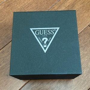 EMPTY Guess watch box